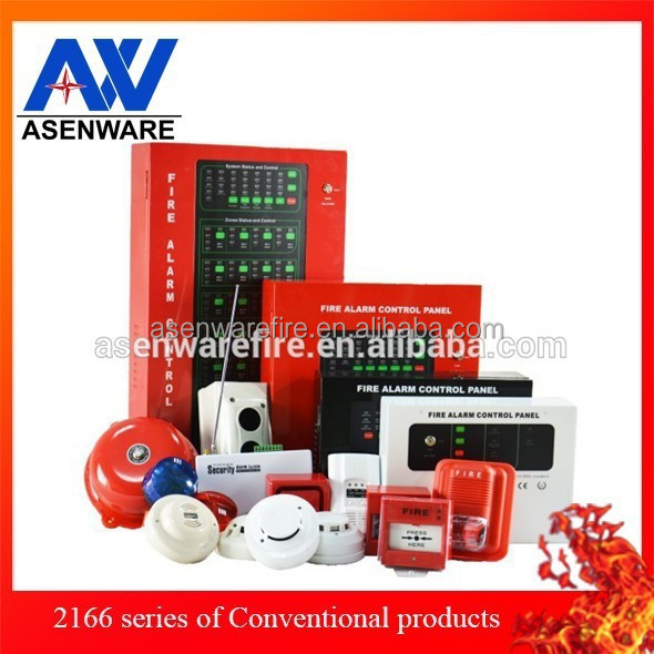 Conventional 1 Zone Est Fire Alarm System Control Panel For Building