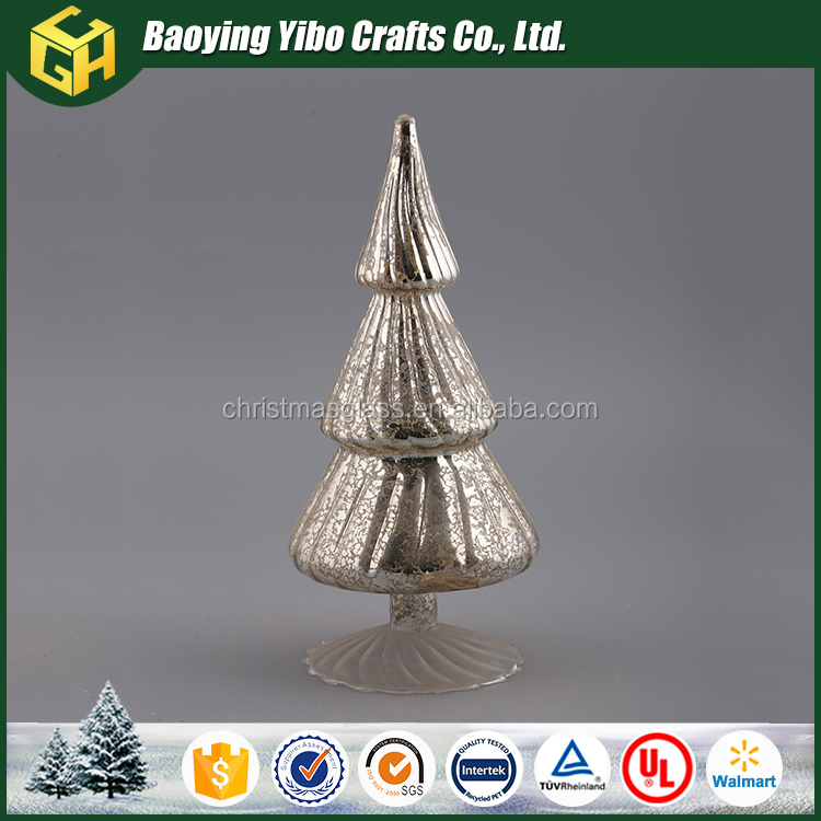 Silver glass Christmas tree wholesale