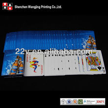 wine promotion ideas, wine promotion playing cards with good quality & pro service