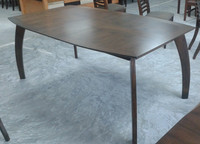 Modern Rubberwood Dining Table