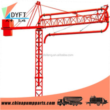 pumping machine,concrete pump distributor 28m 32m inside climbing concrete placing boom