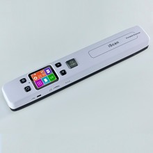 Wifi Handy Document Scanner 1050 Dpi Handheld Mini Portable A4 Paper Wifi Scanner For Outdoors