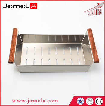 Wire metal dish kitchen stainless steel sink basket Series