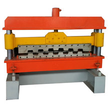 good quality floor deck panel roll forming machine with high speak by customer