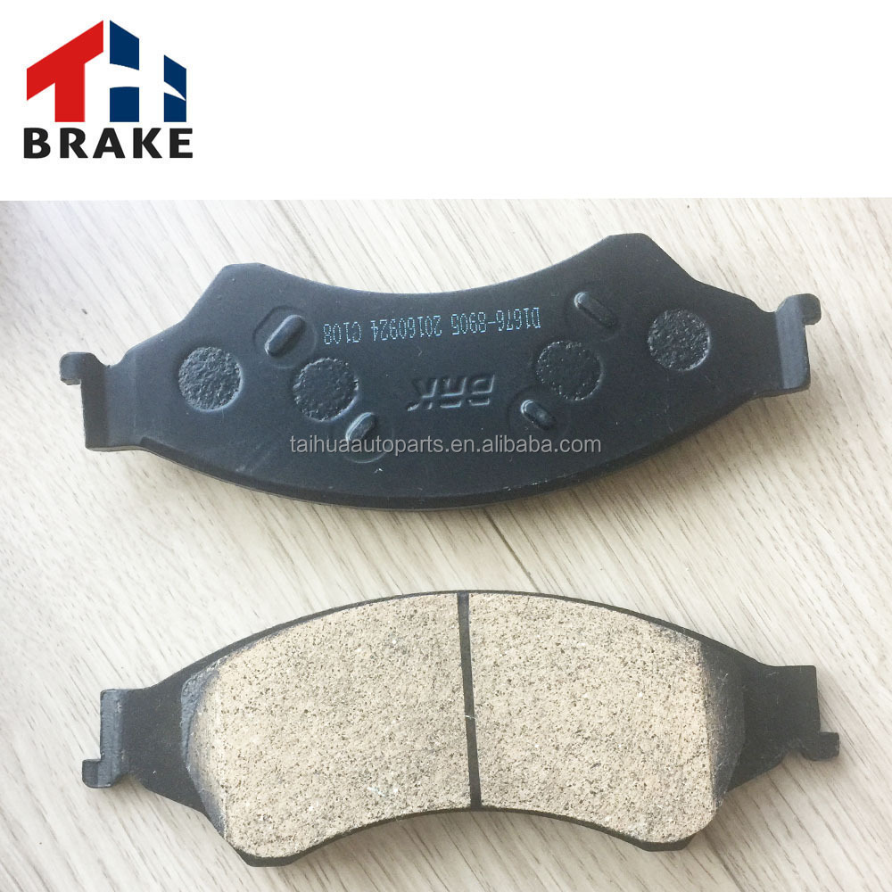 Factory supply organic brake pad for lada