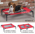High Quality Metal Dog Bed, Folding Metal Dog Bed