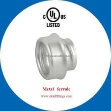 Metal Ferrule with UL standards for electric conduits