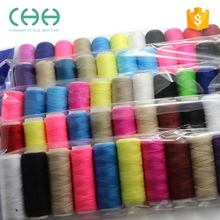 Customized high tenacity polyester fibre sewing machine thread