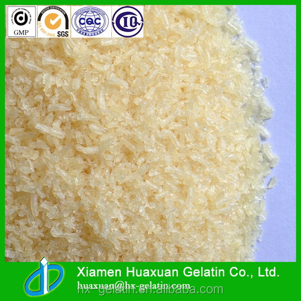 High quality food grade beef gelatin powder