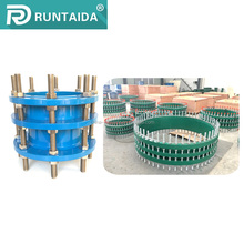 Dismantling joints ductile iron pipe fittings