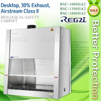<Stainless Steel> Laboratory Equipment /30% Exhaust,Class II,Desktop Biological Safety Cabinet