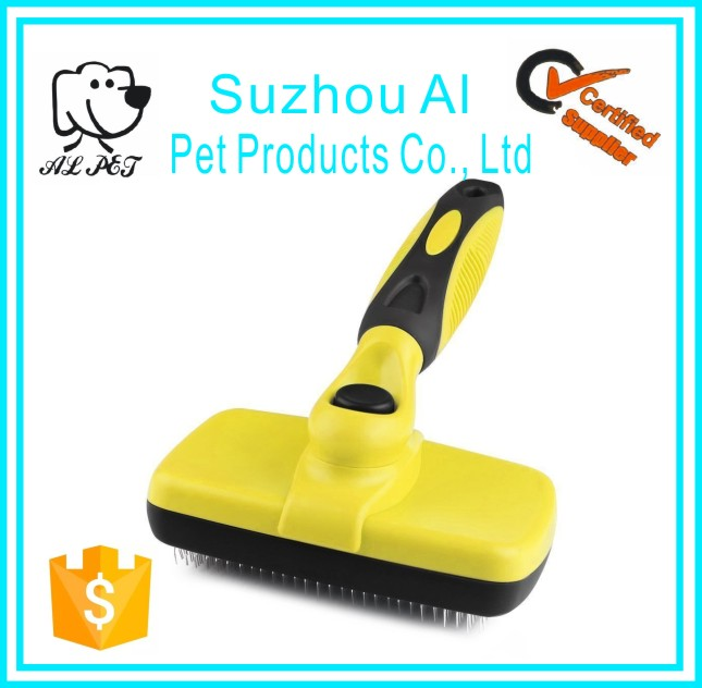Pet Grooming Shedding Tools Brush Dog Self Cleaning Slicker Brushes