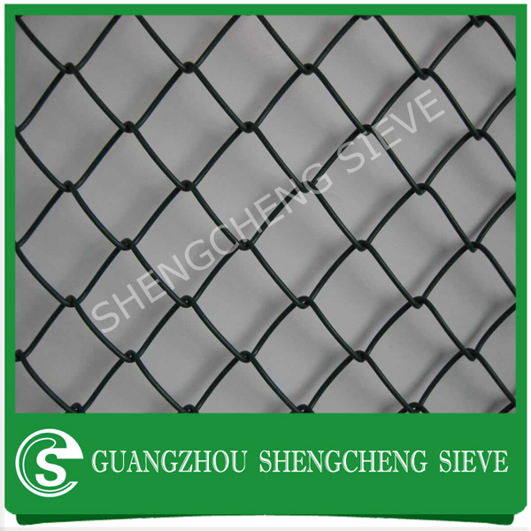 USA hot sell 6 foot cheap chain link fence plastic covering chain link fence