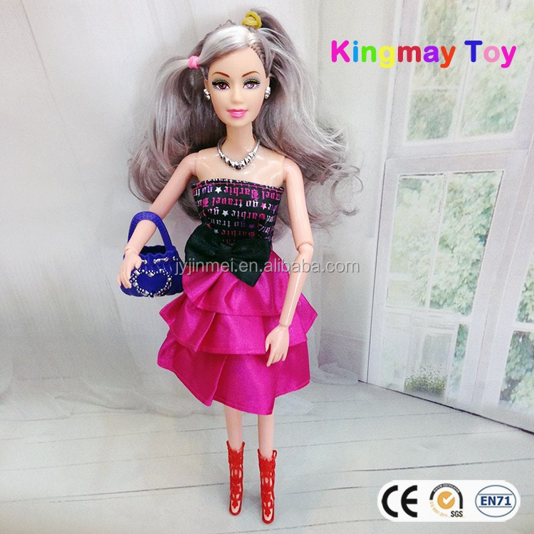 Cheap Toys Plastic Fashion Doll Pretty Girl Dolls