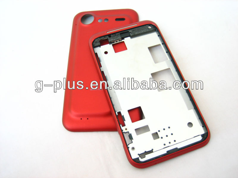 Cover Housing for HTC Incredible S / S710e / G11 Red