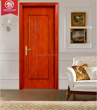 High quality laminate door designs, solid wooden door material, door skin price