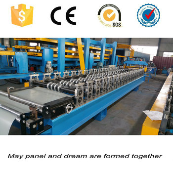 High Quality and Good Outlook Steel Wall Panel Profiling Folding Roll Forming Machine