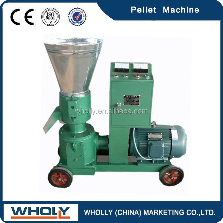 Ce Approved 70-1100 KG/H Animal Feed Pellet Machine / Pellet Machine For Farm