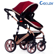 Adult Factory high landscape combi leather stroller