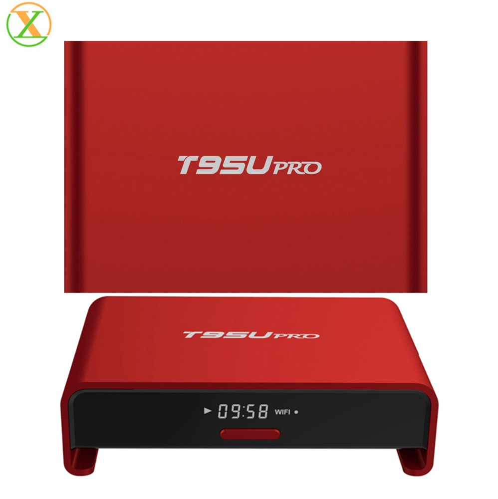 2016 New Arrival Plus Android TV Box T95U 802.11 ac/<strong>n</strong>/g/b 2.4G/5G wifi Android6.0 Amlogic S912 4K HD Smart tv box T95U pro