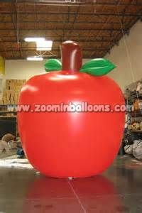 Inflatable Helium Balloon,helium apple balloons N1118