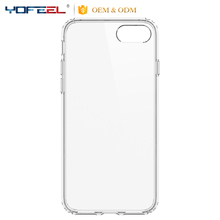 Clear Shockproof Ultra Hybrid TPU Bumper+ PC Transparent back panel Cases for iphone6 6S