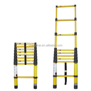 Light weight FRP fiberglass Insulating Multi-section telescopic Extension Ladder