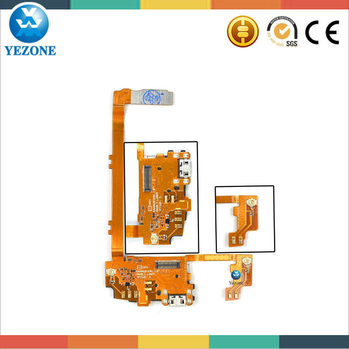 Original Mobile Phone Parts Charging Port Flex Cable For LG G2 D800 D801 D802 D803 D805 ,For LG Flex Cable