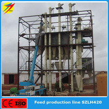 2t/h animal feed pellet production line