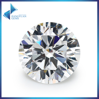 Various Shape Machine Cut Cubic Zirconia Color CZ Gemstone