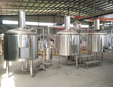 Electric/Steam/ Direct Flame Heating Nano Brewery 50l Microbrewery Equipment Micro Beer Brewing System