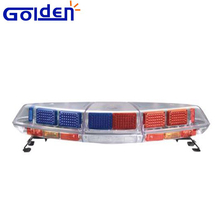 Hawk oval roof top mount led red blue amber strobe led light bar