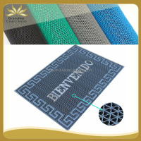 PVC S MAT WITH SMALL S OR Z DESIGN