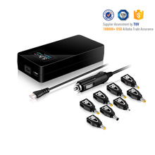 Highend Laptop Adapter! 90W Universal Laptop AC/DC Adapter! With LCD screen and 5V 2A USB Output