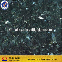 Old quarry Emrrald Pearl granite slab,Green granite tile ,granite counter top