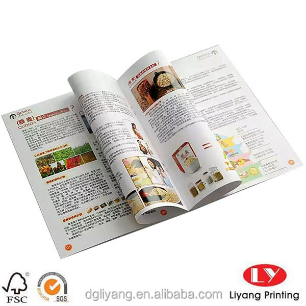 wholesale custom Catalogue design Printing made in China