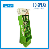 cardboard display pedestals display stand for promotion