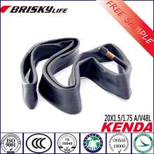 Bike parts of solid rubber bike inner tube for mountain bike