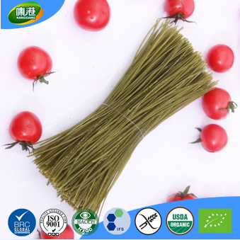 Wholesale organic high fiber saturated free delicious green bean kelp noodles