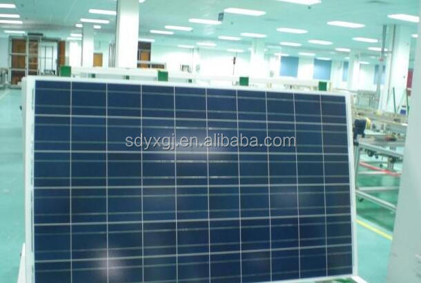 High efficieny and lowest price 140w polycrystalline solar panel
