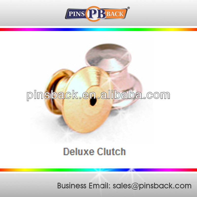 Deluxe Clutch / Spring Clutch for lapel pins / Badges