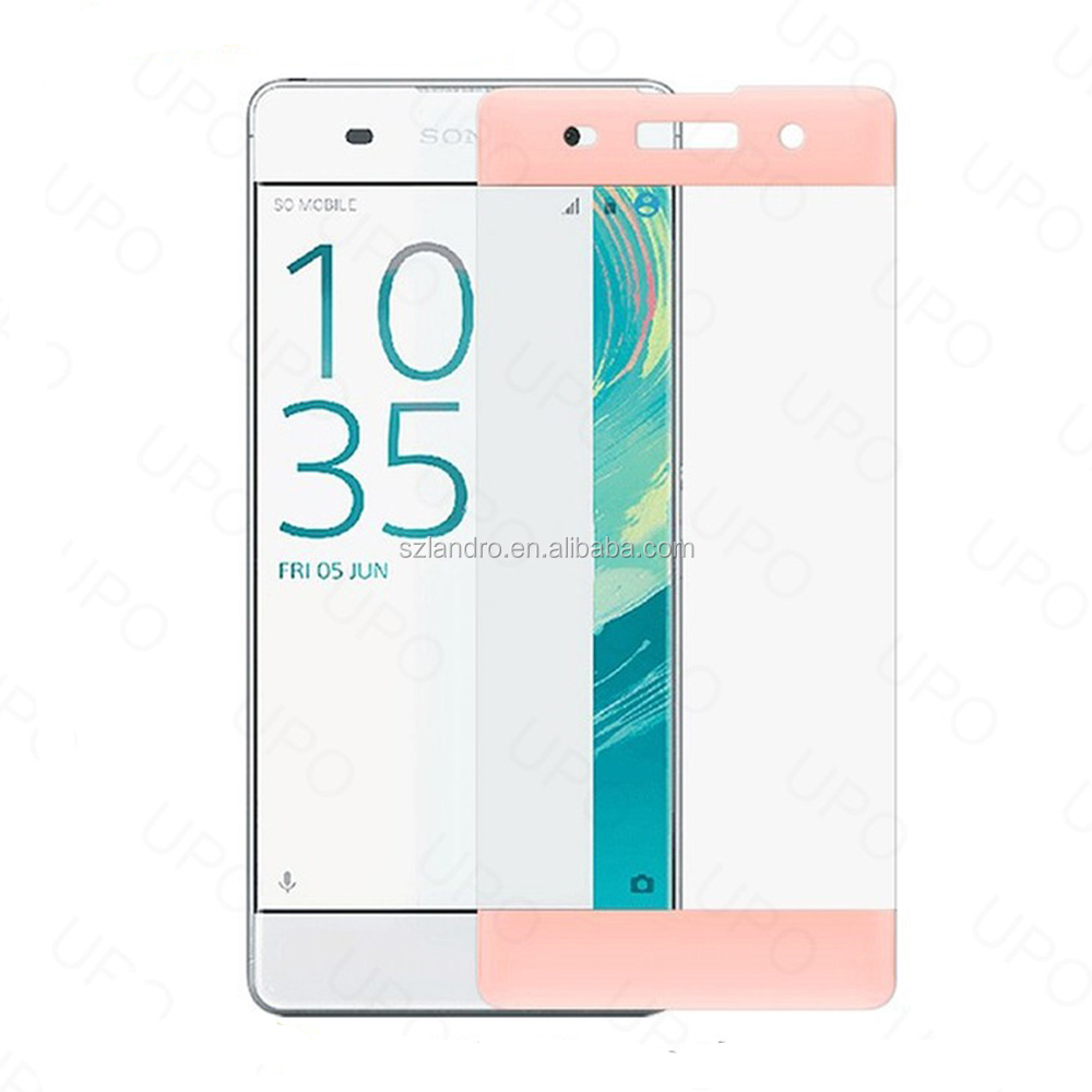 High Transparent Full Cover 3D Cell Phone Tempered Glass Screen Protector for Sony Xperia XA