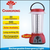 emergency rechargeable radio lantern with battery 40pcs led