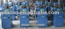 new single cylinder plain looped sock making machine
