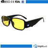 High standard yellow lenses classical polar glare led light night driving sun vision sunglasses polarized