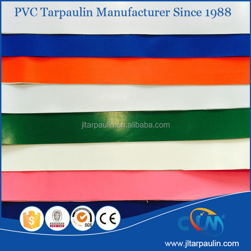 high quality Knife coated PVC tarpaulin for awning, cover