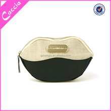 High-End Lip Style Cosmetic Case Lady and Man Clutch Bag Carry Case Make-Up Bag