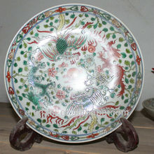 Chinese Antique Porcelain Plate RYVB08