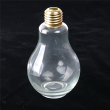 200ml 300ml 400ml 500ml empty clear bulb shaped soft drink glass bottle with straw for drinking