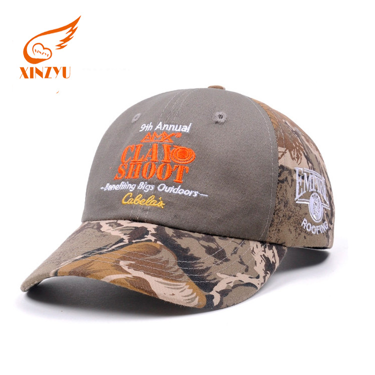 Top Quality Hot Sale Low Cut Baseball Hats Drop Ship Flexfit Camo Baseball Cap
